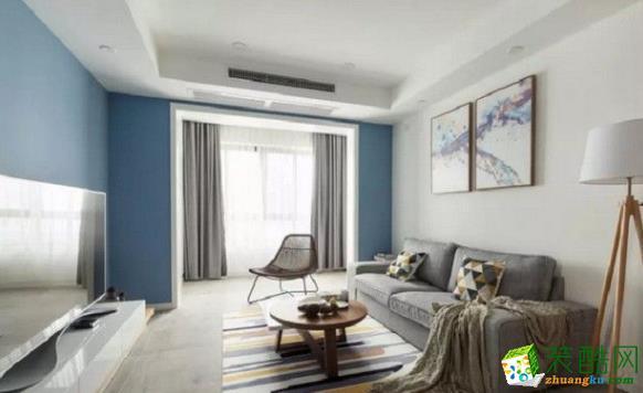 常州70平两居室欧式风格装修案例