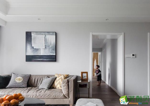 >> 名邸装饰-95平三居室欧式装修效果图