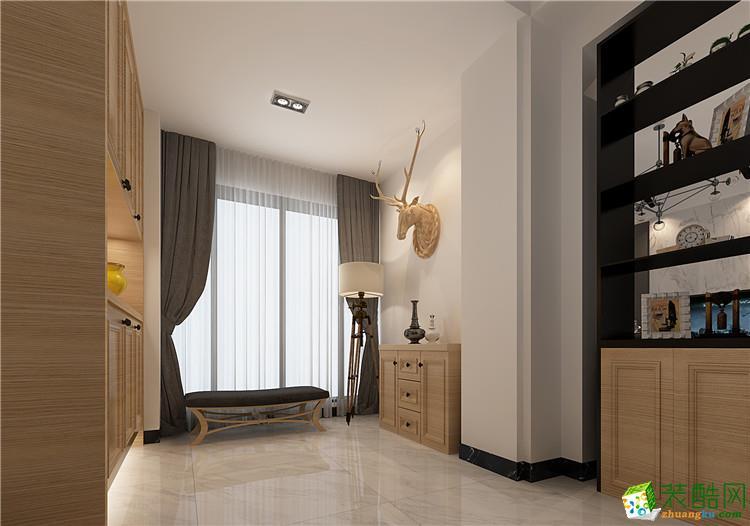 新乡120平三室两厅一卫北欧风格装修效果图