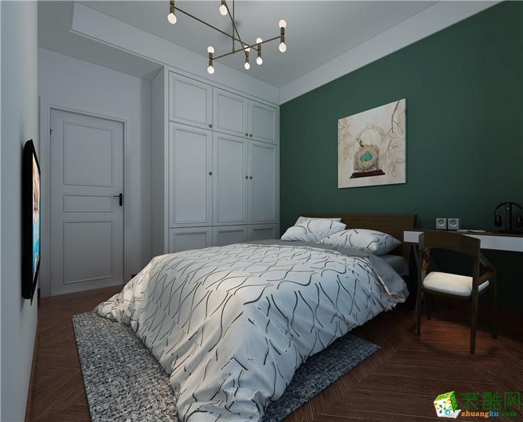 新乡100平三室一厅一卫混搭风格装修效果图
