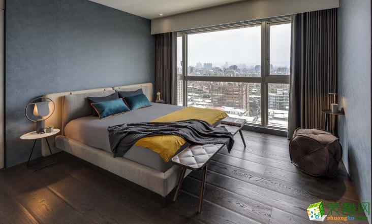 长沙必美装饰-115平米现代简约三居室装修案例