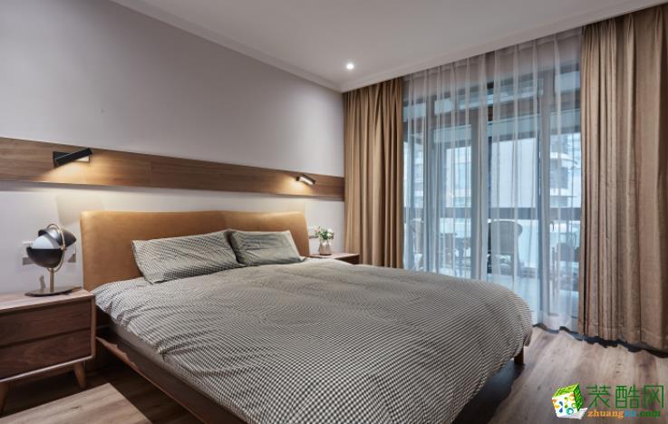 长沙必美装饰-118平米简约三居室装修案例