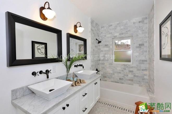 春晖花园110平方米三室两厅混搭风格装修设计案例