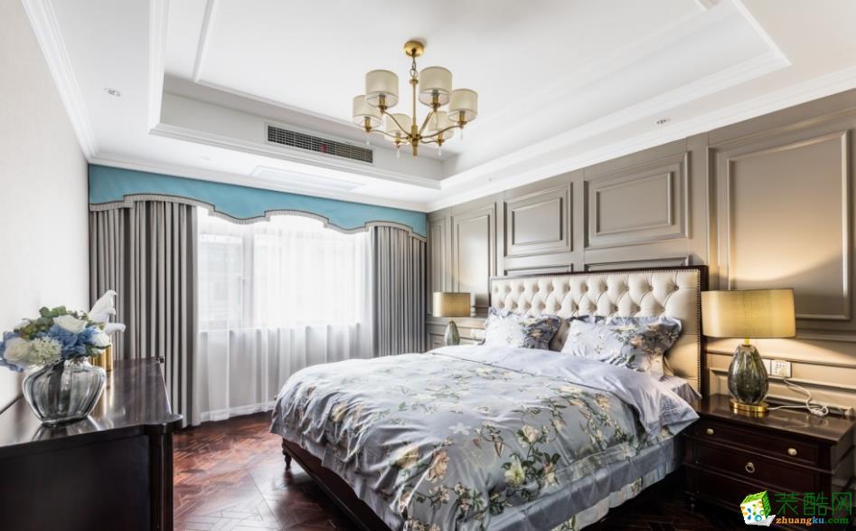 卧室  昆明160平三室两厅法式风格装修效果图