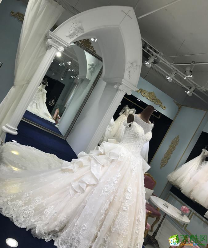楚河汉街800㎡婚纱摄影商铺装修效果图