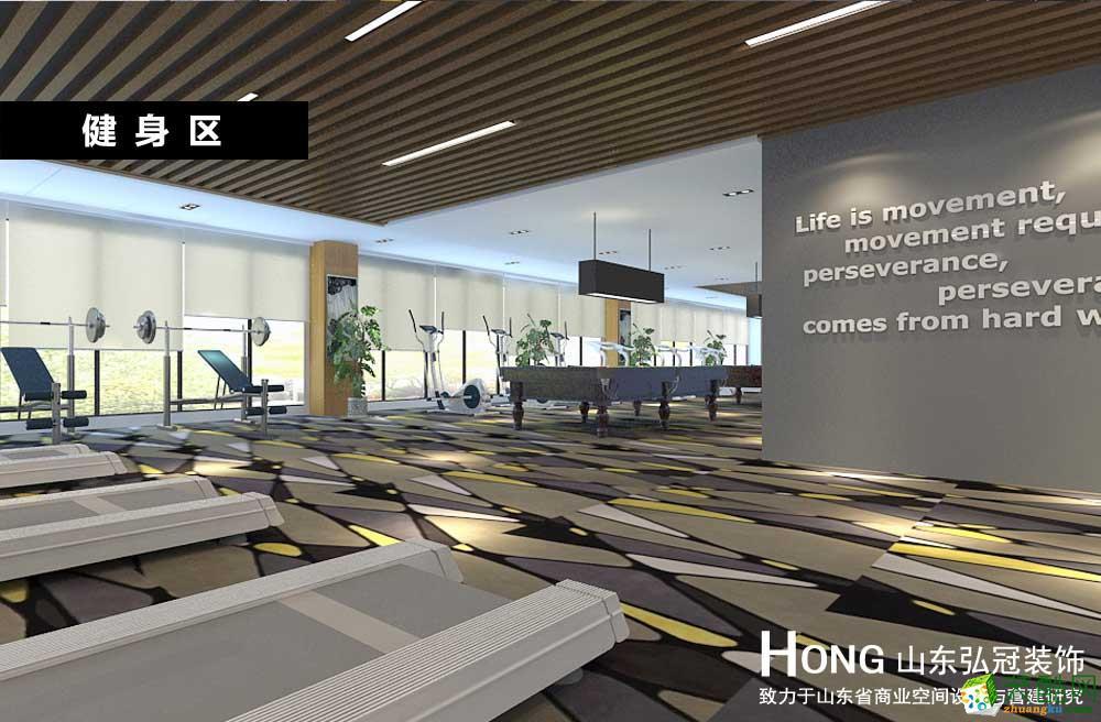 淄博工裝辦公空間辦公室寫字樓中式專業裝修裝飾設計施工公司
