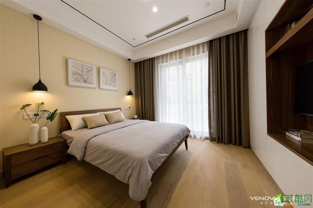 绿城怡园140平三室两厅一卫现代简约风格装修效果图