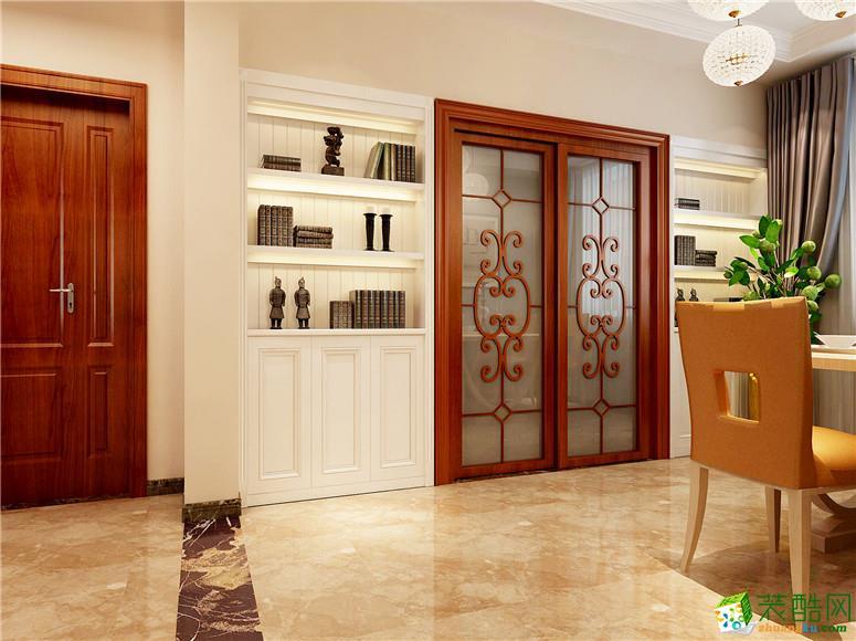 锦绣东方142平米三室两厅一卫简约风格装修效果图