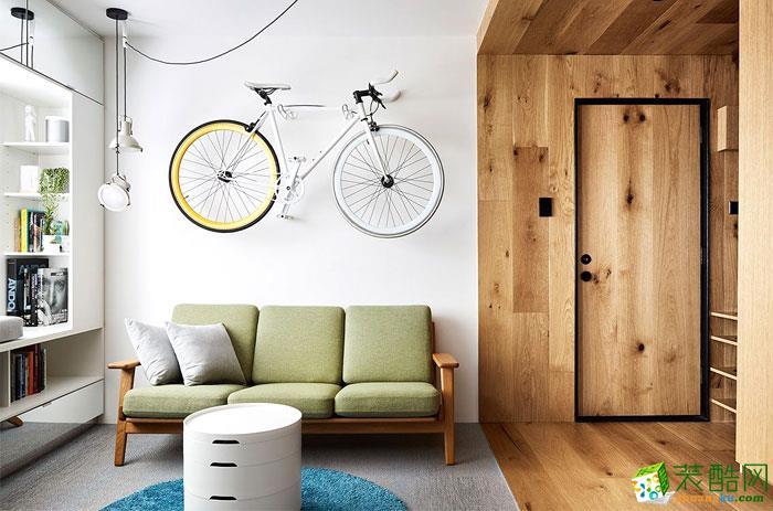 35㎡时尚巧妙的单身公寓