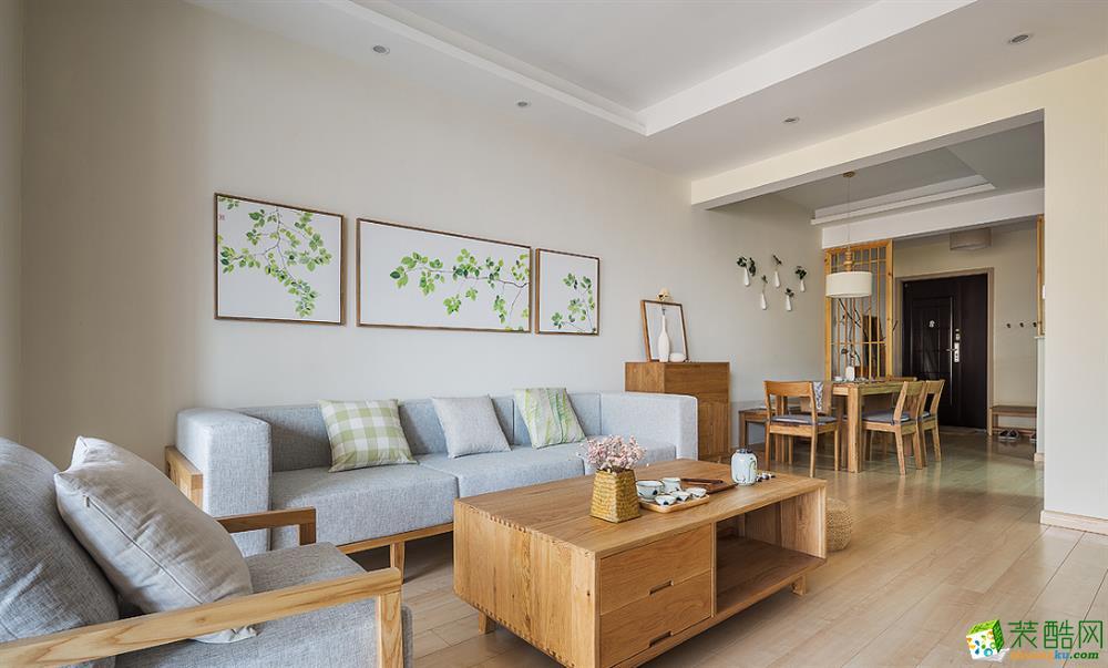 庭逸装饰-85平米三居室中式装修案例图