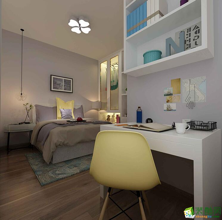 郑州三室一厅一卫装修―100平现代简约风格装修效果图