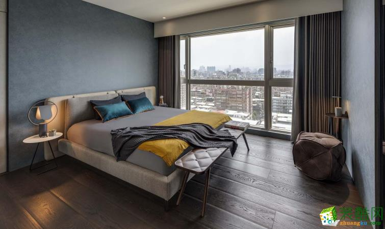 济南诚洲装饰-110平米现代三居室装修案例