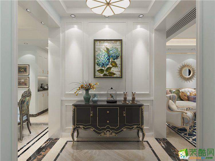 郑州三室一厅一卫装修―90平法式风格装修效果图