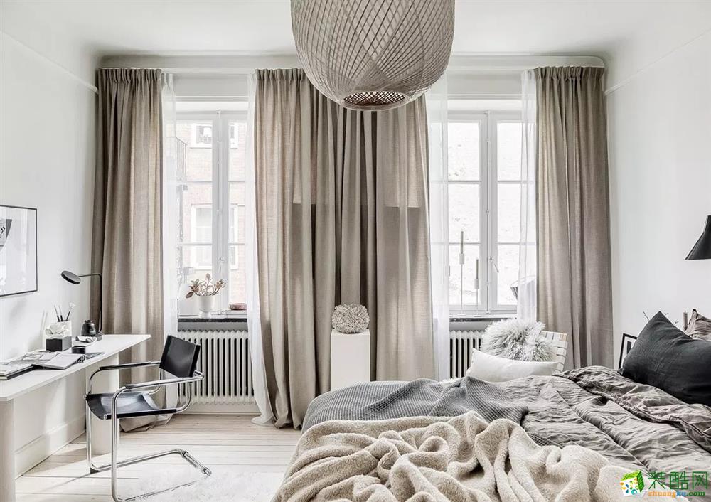 合肥公寓装修—75㎡自然色调小公寓设计作品