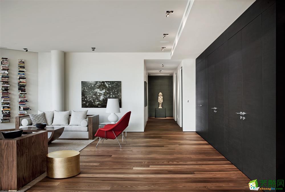 领域装饰设计-绿城桂花园130平北欧风格装修案例