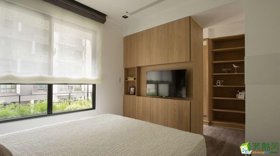 江油市香榭国际110平米现代风格装修案例