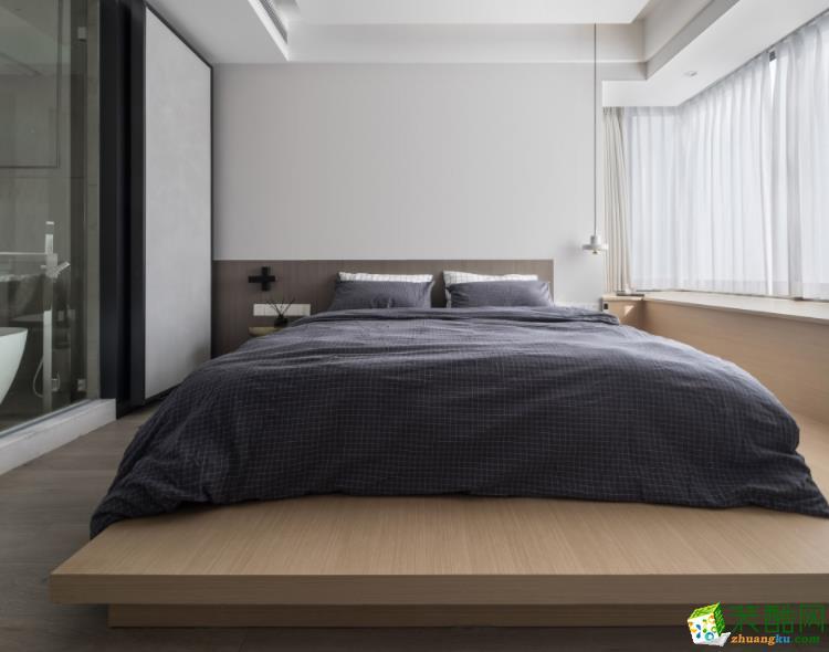 常州汇福装饰-120平米简约三居室装修案例
