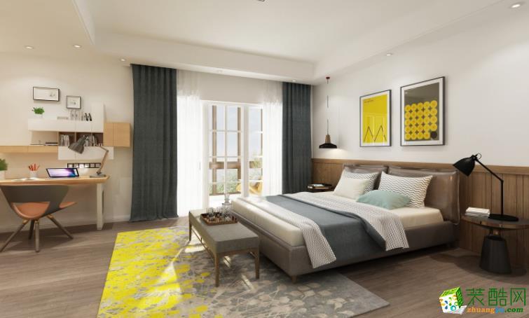 常州汇福装饰-95平米两居室装修案例