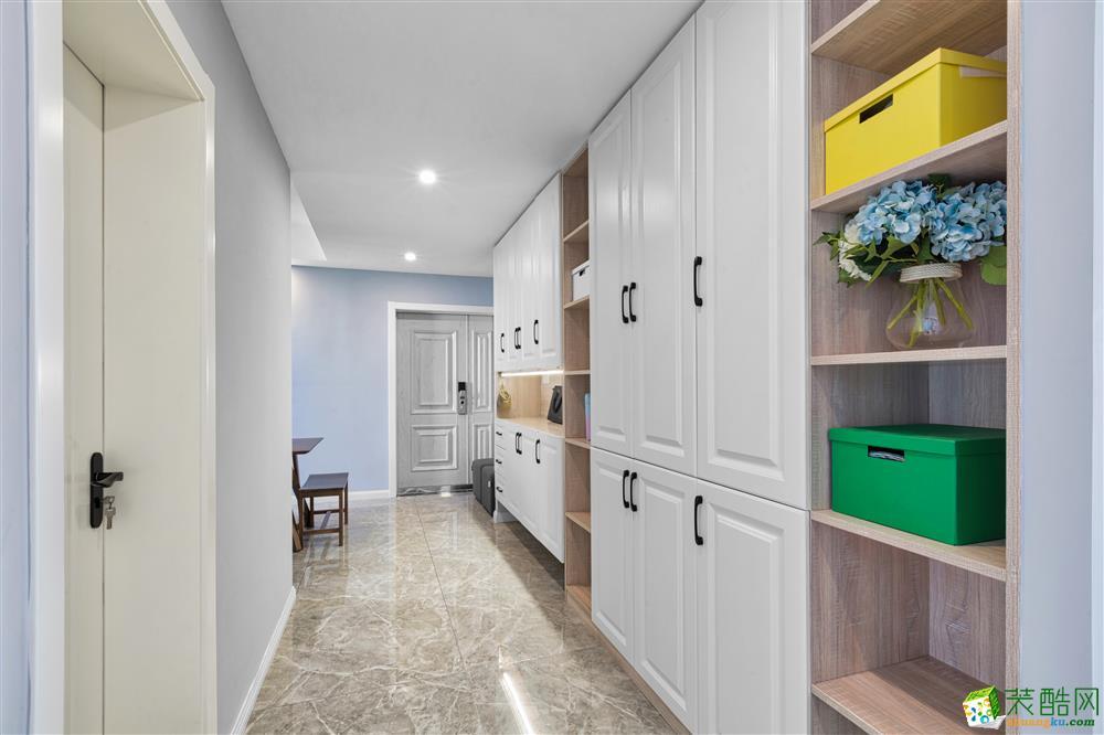 常州汇福装饰-百草园120平米现代简约三居室装修案例