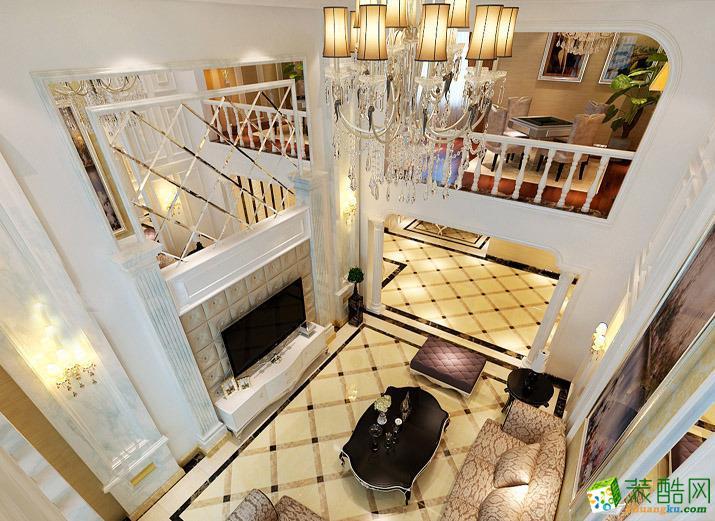 上海260�O别墅欧式风格设计装修效果图