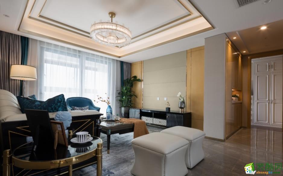 昆明五華區春城慧谷146平現代風格裝修案例圖-豐立裝飾