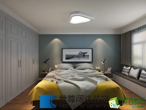 海富名都城105�O三室一厅一卫现代风格设计效果图