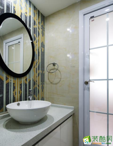 常州汉秋装饰-110平米北欧三居室装修案例