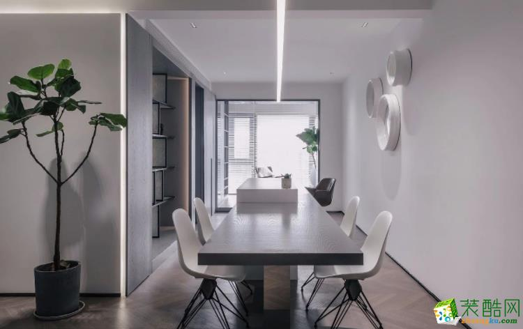 西安仟创装饰-85平米简约两居室装修案例