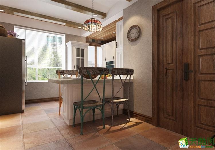 100平三居室现代风格装修
