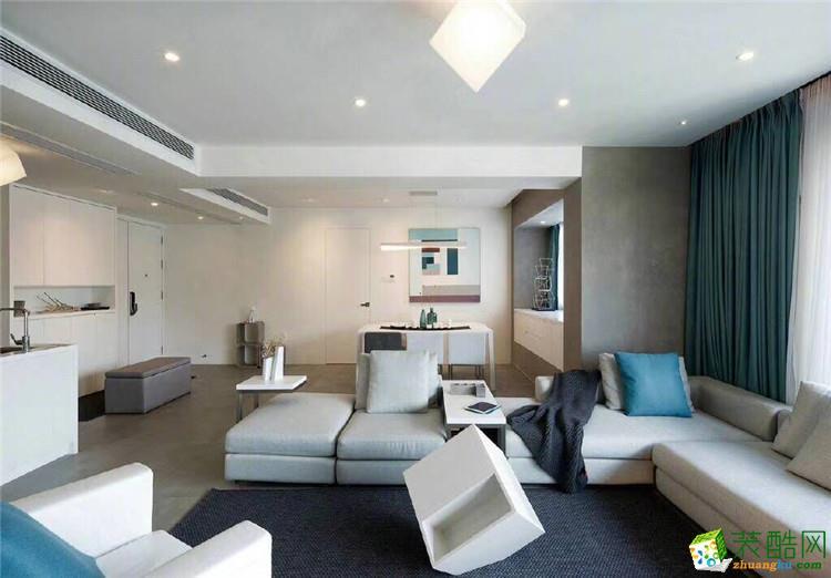 60平二居室现代风格装修效果图