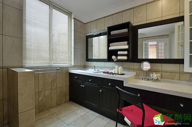 常州喜客喜装饰-110平米现代三居室装修案例