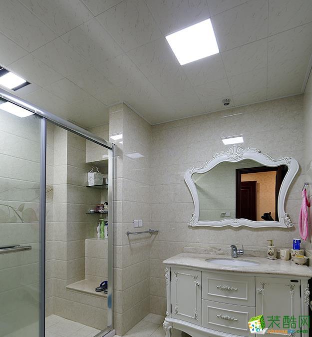 常州喜客喜装饰-125平米欧式三居室装修案例
