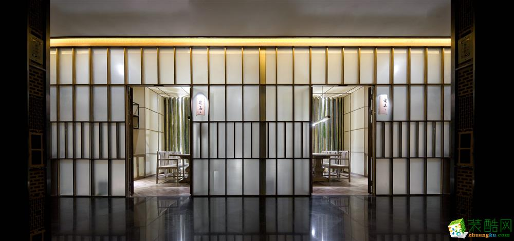 郑州足疗馆装修―1600平中式风格装修效果图