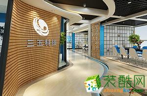 濟南辦公空間寫字樓裝修設計-山東三玉科技
