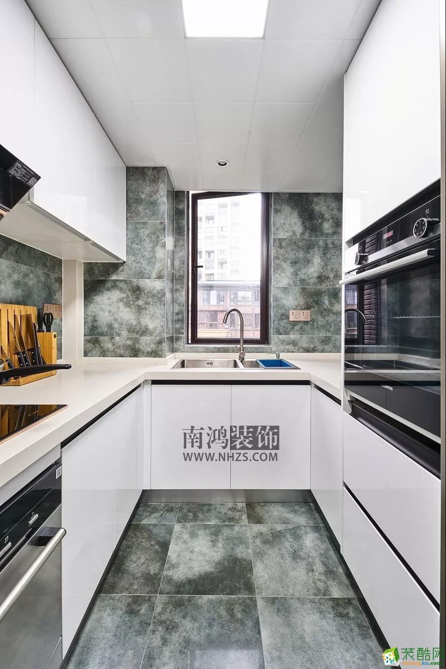 厨房  申花一号院丨180㎡现代港式 轻奢生活代名词