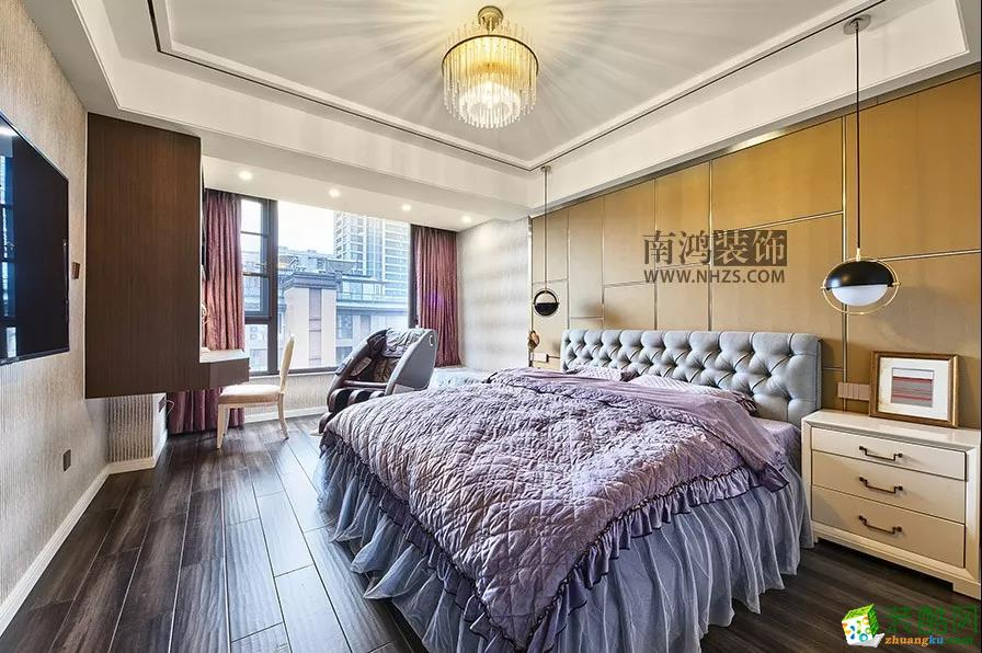 卧室  申花一号院丨180㎡现代港式 轻奢生活代名词