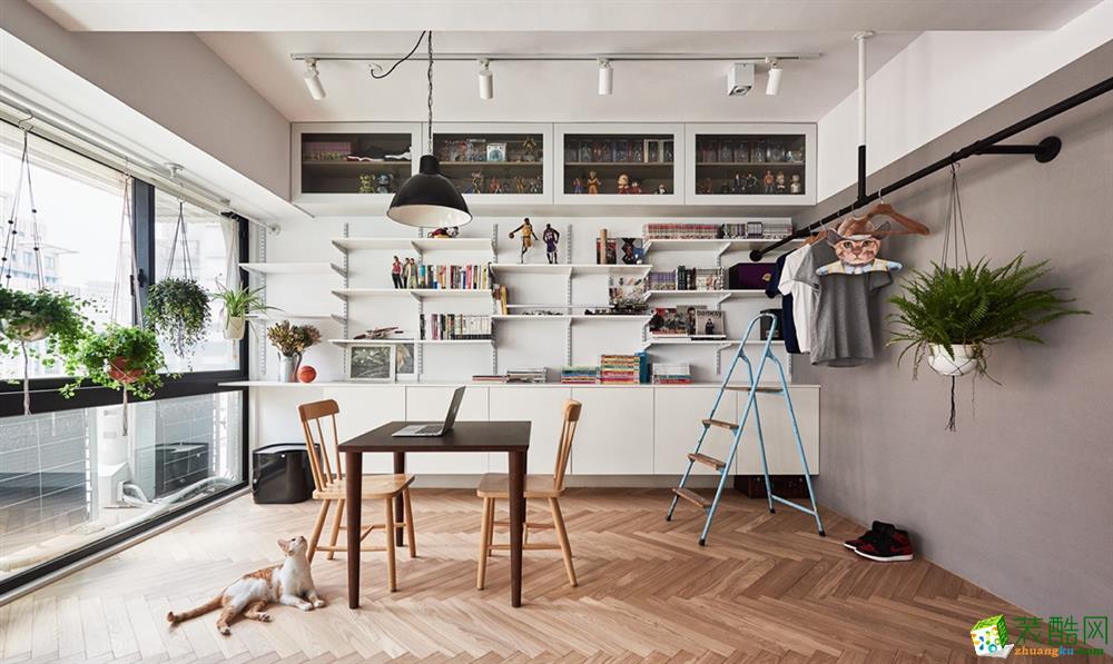 荣欣家庭装潢-和协风格南岸109平北欧风格装修效果图