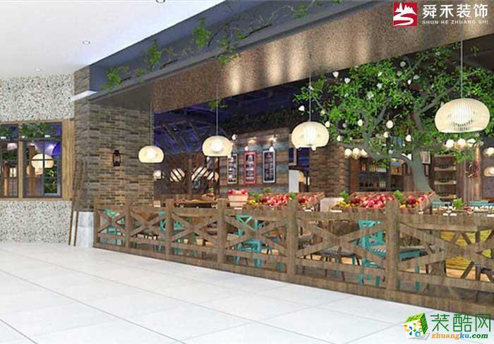 濟南餐飲網紅店特色主題餐廳設計商鋪店面裝修設計公司