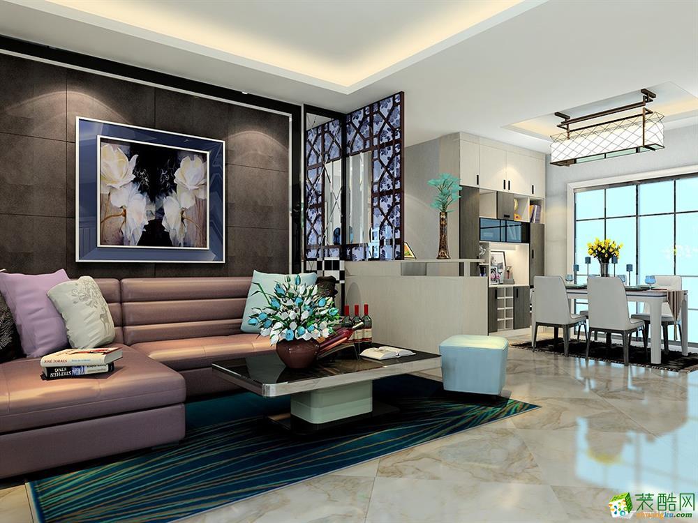 重庆两居室装修-60平米现代风格定制装修案例-维意定制