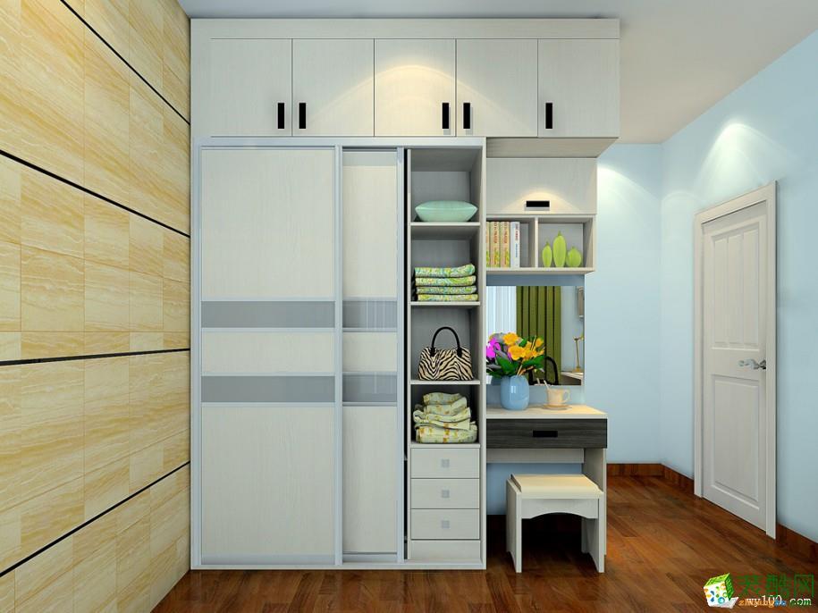 重庆衣柜定制-现代风格卧室衣柜定制案例-维意装饰