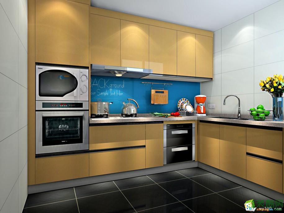重慶廚房定制裝修案例圖-維意定制