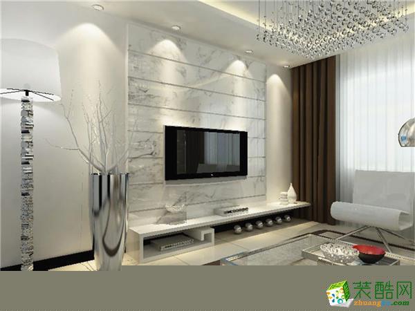 二居室现代风格装修效果图