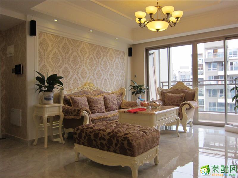 宜宾三居室装修-105平米现代风格装修案例-大饰纪装饰