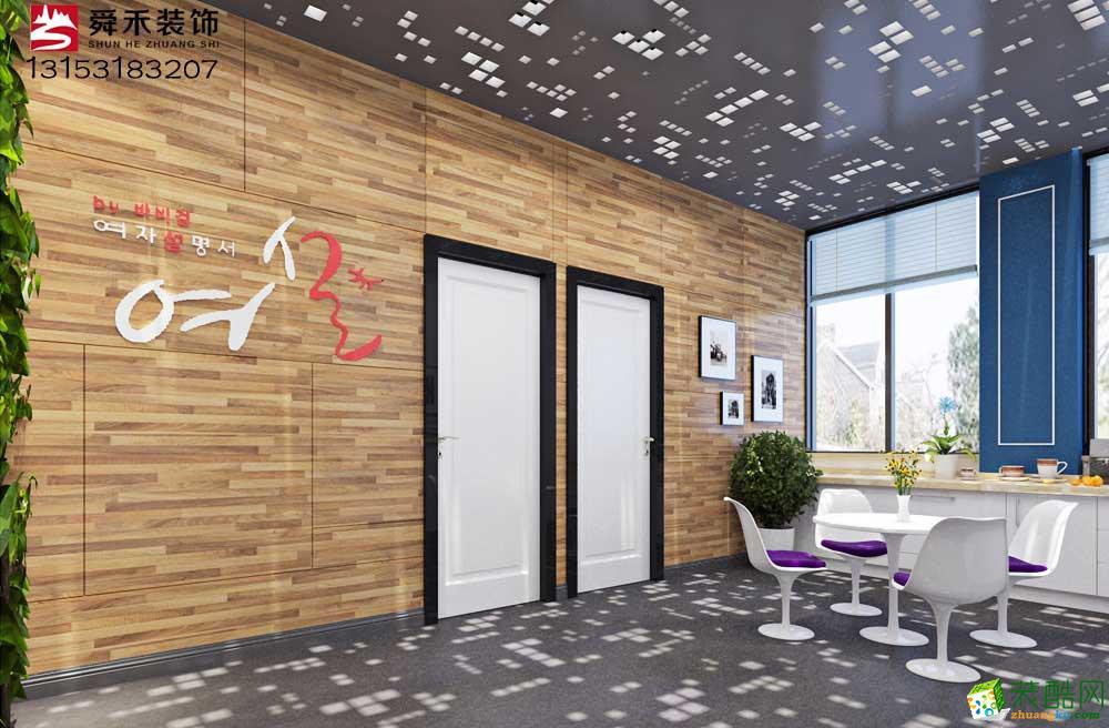 淄博醫療美容院美容會所店面裝修設計公司_山東舜禾裝飾
