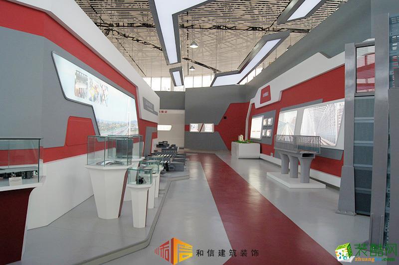 成都展厅装修设计公司-新津新筑股份集团企业展厅