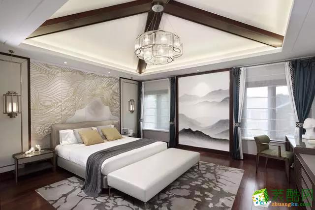 贵阳新中式别墅设计案例,新中式别墅设计,简约与品质共存!