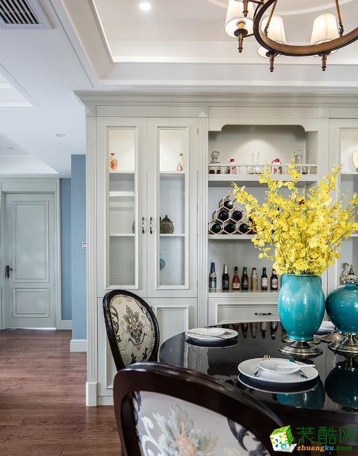 餐厅  昆明俊发观云海200㎡三居室美式风格装修
