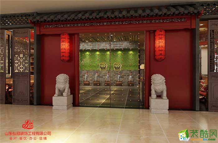 淄博商業街店鋪店面門面商鋪裝修設計公司山東弘冠裝飾