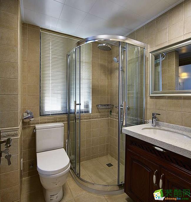 长沙谷居装饰-120平米欧式三居室装修案例