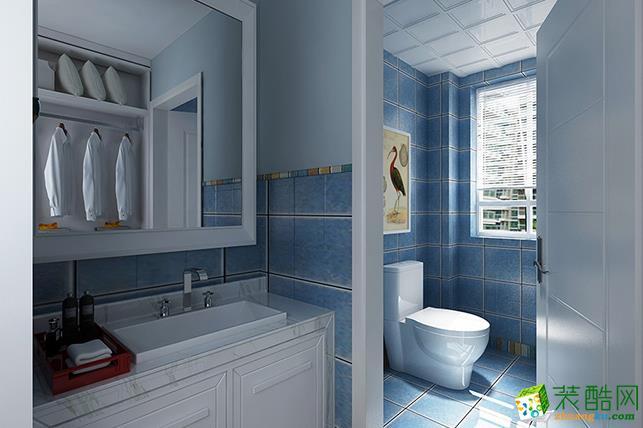 长沙谷居装饰-85平米现代简约两居室装修案例